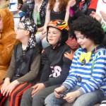 Die Kostüme waren vielfältig...