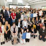 Gruppenfoto aller Preisträger